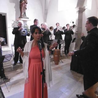 La Principal de la Bisbal& Indira  amb el concert
