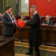 Francesc Homs és el coordinador de la defensa dels exconsellers del PDeCAT