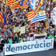 1a manifestació sobiranista a Madrid