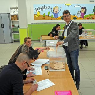 Actual Alcalde de Bescanó, Sr. Pere Lluís  Garcia i que es torna a presentar per JuntsxCat.