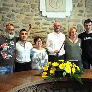 Nou equip a l'Ajuntament de Bescanó. ERC: 5 regidors + 1 de la CUP.