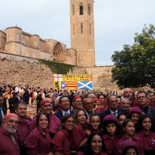 Acte institucional de la Diada a Lleida
