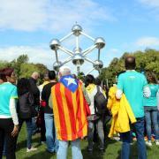 Acte de l'ANC amb motiu de la Diada a Brussel·les
