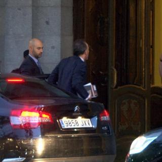 El jutjge Manuel Marchena, arribant al Suprem aquest dilluns