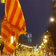 Concentració Gran Via / Marina 16 oct