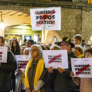 CONCENTRACIÓ unitària dels dilluns  #LlibertatPresosPolitics  108a concentració consecutiva Amb Pep Bosch