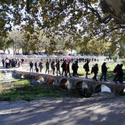 L'AP-7 ha quedat buida de manifestants a la frontera després de l'actuació policial però l'acció del Tsunami no s'acaba