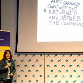 Presentació del segell d'empreses i entitats compromeses amb la cultura que hem elaborat des de la Càtedra de RSU UdG
