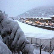 Neu a Castellciutat, a la Seu d'Urgell