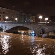 Girona -Riu Onyar-Pont Pedra 19:00h