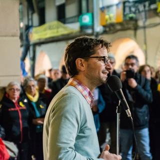 124a concentració unitaria #LlibertatPresosPoliticsiexiliats  Girona se suma a les ciutats que es mobilitzen en suport a Julian Assange amb la intervenció col·legi de periodistes demarcació de Girona