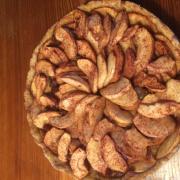 preparar un bon pastís de poma!