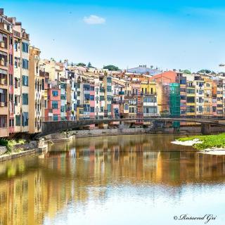 Girona riu Onyar