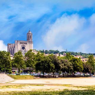Vista des de la Devesa - Girona