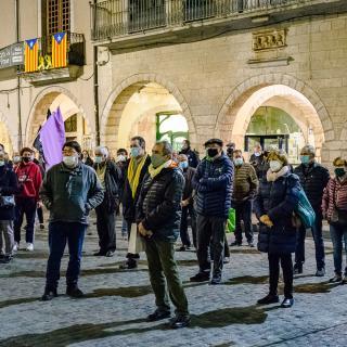 CONCENTRACIÓ unitària dels dilluns per la llibertat dels presos polítics i el retorn en llibertat dels exiliats!  163a concentració consecutiva
