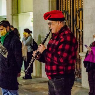 CONCENTRACIÓ unitària dels dilluns per la llibertat dels presos polítics i el retorn en llibertat dels exiliats!   164a concentració consecutiva 30/11/2020 Amb les intervencions del partit membre de la Taula d'entitats i partits de Girona per la Independència, Reagrupament.