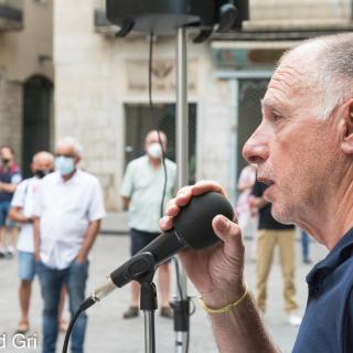 ACTE PRESENCIAL unitari dels dilluns per la llibertat dels presos polítics, el retorn en llibertat dels exiliats i per tots els represaliats!  198a concentració consecutiva