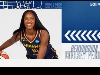 Chelsea Perry, en acció.