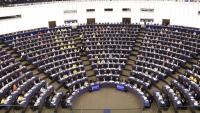Vista d'un ple del Parlament Europeu, en una imatge d'arxiu