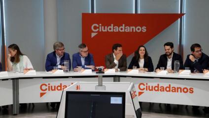 L'executiva de Cs, reunida aquest dilluns a Madrid