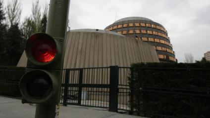 Vista del Tribunal Constitucional, a Madrid