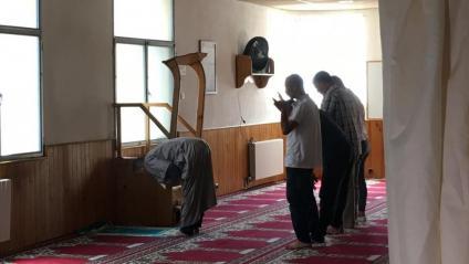 Imatge d'arxiu de la mesquita Annour de Ripoll, on Es Satty va exercir d'Imam
