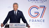 El ministre d'Economia i finances francès, Bruno Le Maire, aquest dijous a Chantilly
