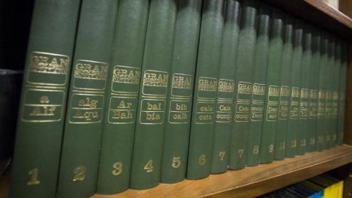 """La Gran Enciclopèdia Catalana, la GEC, la """"verda""""... l'Enciclopèdia, senzillament"""
