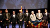 Imatge d'arxiu de l'acte de presentació del Consell de la República, el passat desembre a Brussel·les