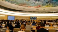 Vista del plenari del Consell de Drets Humans de l'ONU, el passat 24 de juny a Ginebra