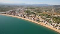 Vista aèria de la urbanització de Santa Margarida, a Roses