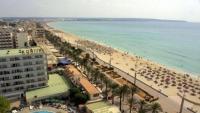 Vista de la platja de Palma