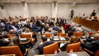 Vista d'un plenari de la diputació de Barcelona, el passat 11 de juliol