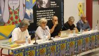 Els participants en la taula rodona sobre els deu anys de la consulta d'Arenys, aquest dimarts a Prada de Conflent