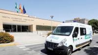 Imatge de l'Hospital Virgen del Rocío de Sevilla, on estava ingressada la primera víctima mortal del brot de listeriosi