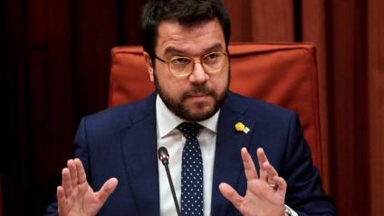 El vicepresident del govern i conseller d'Economia, Pere Aragonès, aquest dimecres, a la comissió d'Economia del Parlament