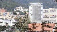 Vista de l'hospital de la Vall d'Hebron, a Barcelona