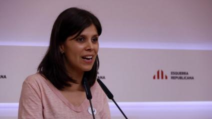 La portaveu d'ERC, Marta Vilalta, en una imatge d'arxiu