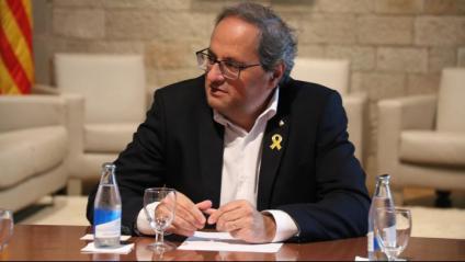 El president de la Generalitat, Quim Torra, en una imatge recent