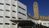 Vista dels jutjats de Lleida, en una imatge d'arxiu