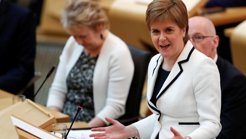 La ministra principal d'Escòcia, Nicola Sturgeon, en una imatge d'arxiu