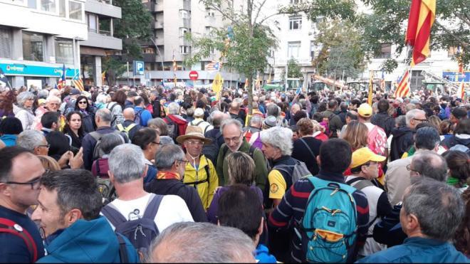 Marxa de la Llibertat a Girona