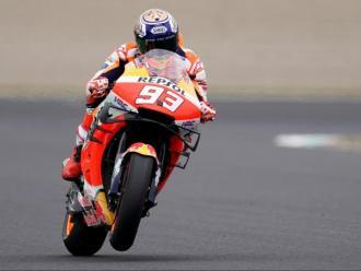 Primera 'pole' de Marc Márquez a Motegi en Moto GP