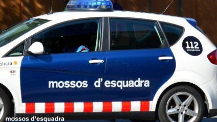 Imatge d'arxiu d'un vehicle de la policia catalana