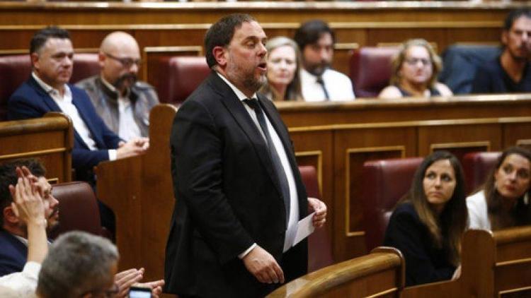 Oriol Junqueras al Congrés dels Diputats