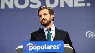 Pablo Casado, president del PP