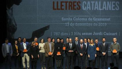 Els guanyadors de la 69 nit de Santa Llúcia, aquest divendres a Santa Coloma de Gramenet