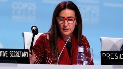 La presidenta de la COP25, la ministra xilena Carolina Schmidt, inaugura la reunió final del plenari de la conferència