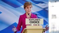 La líder de l'SNP i ministra principal d'Escòcia, Nicola Sturgeon, en una imatge d'aquesta setmana