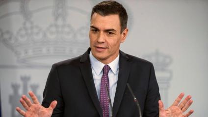 El president del govern espanyol, Pedro Sánchez, en una imatge recent a la Moncloa